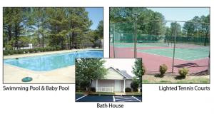 Pool Tennis Bathhouse